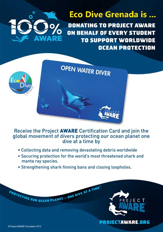 Eco Dive commits to 100% AWARE