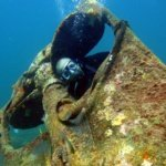 Shipwreck Diving in Grenada with Eco Dive Quarter Wreck
